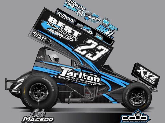 Cole Macedo will drive the No. 23 entry for Jay Kiser this season.