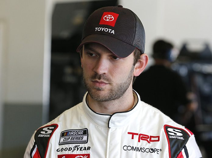 Daniel Suarez will not race in Sunday's Daytona 500 after a crash in Thursday's first Duel race. (Toyota Photo)