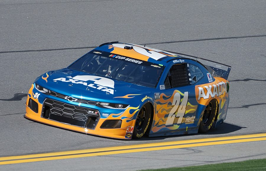Starting fourth in his third Daytona 500, William Byron in the No. 24 Hendrick Motorsports Chevrolet. (Dave Moulthrop Photo)