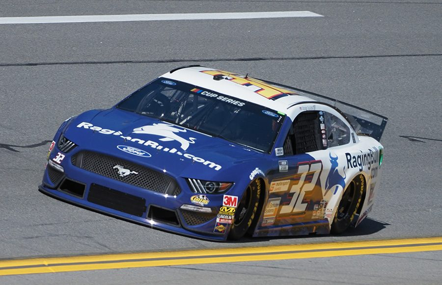 Starting 36th in his fourth Daytona 500, Corey LaJoie in the No. 32 Go Fas Racing Ford. (Dave Moulthrop Photo)