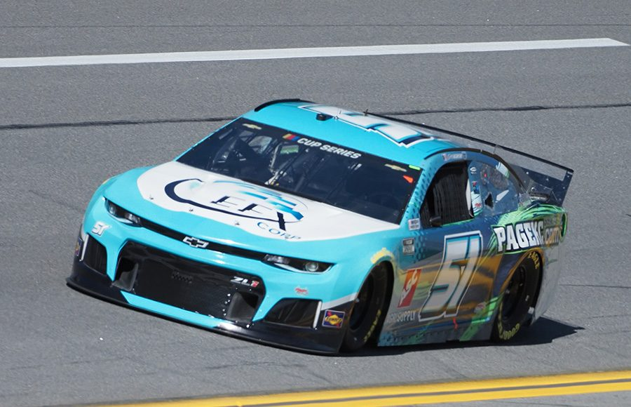 Starting 37th in his second Daytona 500, Joey Gase in the No. 51 Rick Ware Racing Chevrolet. (Dave Moulthrop Photo)