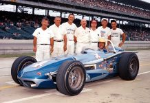 1964 Indy Bob Harkey, #4, Wally Weir Mobilgas, Watson, Offy (IMS Photo)