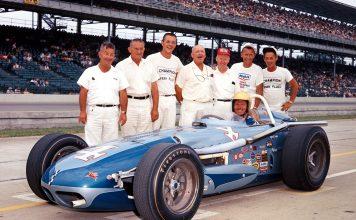 1964 Indy Bob Harkey, #4, Wally Weir Mobilgas, Watson, Offy (IMS Photo)