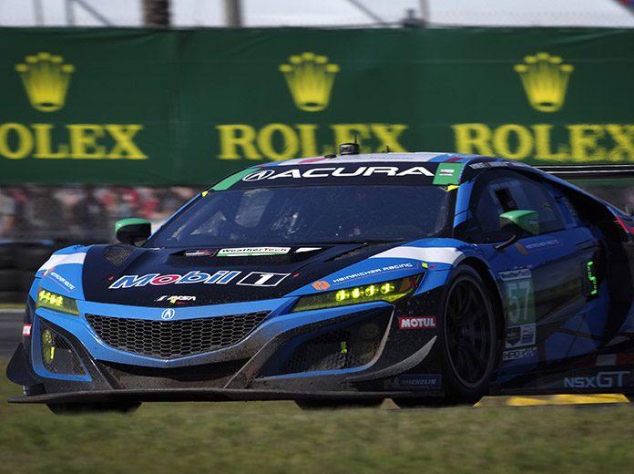 Misha Goikhberg and Matt McMurry are both getting up to speed with Meyer Shank Racing. (IMSA Photo)