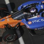 Aeroscreen Scott Dixon Indianapolis. (IndyCar photo)