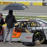 Rain Postpones Finish