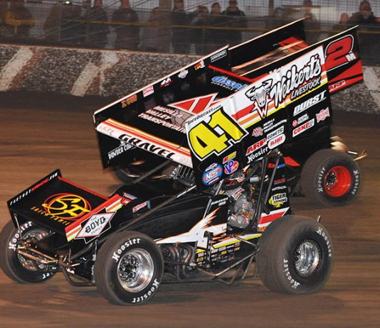 The World of Outlaws NOS Energy Drink Sprint Car Series is set for an Arizona invasion. (Chad Warner Photo)