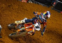 Cooper Webb will compete in Saturday's Supercross race in Atlanta. (KTM Photo)
