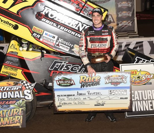 Reutzel Remains Atop