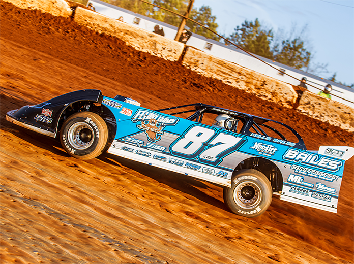 Ross Bailes is hoping to carry momentum into Saturday's Drydene Xtreme DIRTcar Series finale at Modoc Raceway. (Tyler Wicks Photo)
