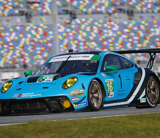 Wright Motorsports will field a second Porsche for the IMSA Sprint Cup entries this year. (IMSA Photo)