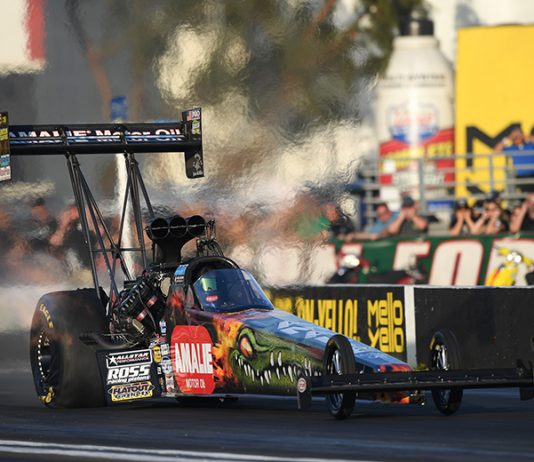 Terry McMillen is hoping to build off a strong start to the NHRA season during the upcoming Gatornationals. (NHRA photo)