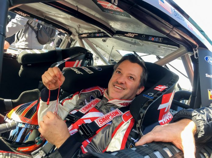 Tony Stewart announces 1-race NASCAR return