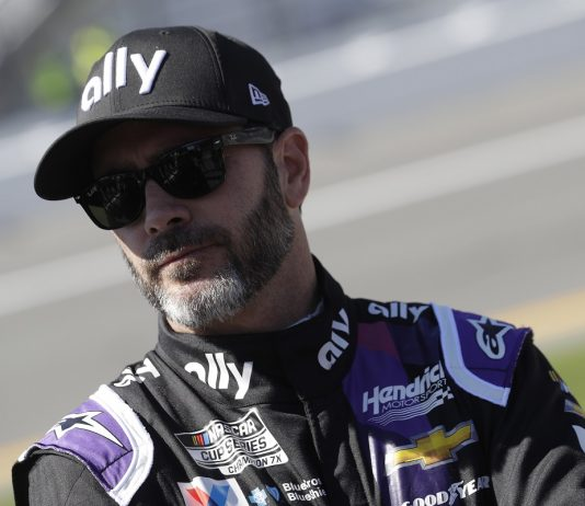 Jimmie Johnson To Test