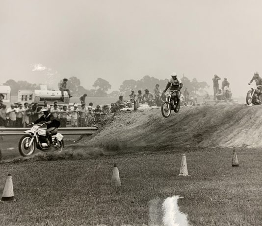 Vintage Supercross at Daytona. (Gary Bailey Photo0