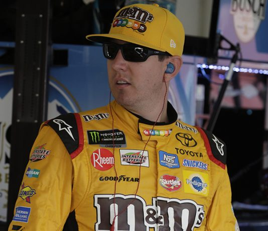 Kyle Busch was fastest in Friday's second NASCAR Xfinity Series practice at Phoenix Raceway. (HHP/Harold Hinson Photo)