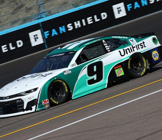 Chase Elliott was fastest in Friday's second NASCAR Cup Series practice at Phoenix Raceway. (NASCAR Photo)