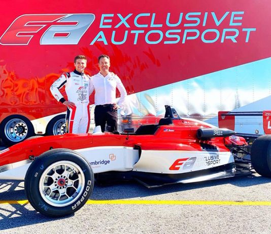 Christian Brooks will drive for Exclusive Autosport in the USF2000 Championship.