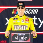 Kyle Busch will lead the NASCAR Xfinity Series to the green flag Saturday at Phoenix Raceway. (Ivan Veldhuizen Photo)