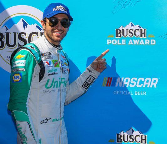 Chase Elliott has earned the pole for Sunday's NASCAR Cup Series race at Phoenix Raceway. (Ivan Veldhuizen Photo)