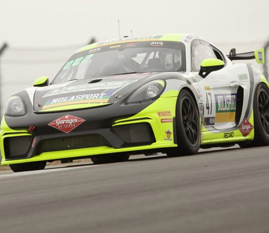 Matt Travis and Jason Hart were the overall winners of Saturday's SprintX race at Circuit of the Americas.