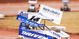 Harley Hollan was a winner Sunday at Red Dirt Raceway. (DPC Media Photo)