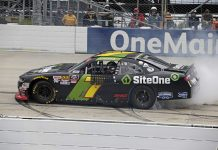 SiteOne will return to sponsor Justin Allgaier for Saturday's NASCAR Xfinity Series race at Atlanta Motor Speedway after previously sponsoring him in 2018. (HHP/Alan Marler Photo)