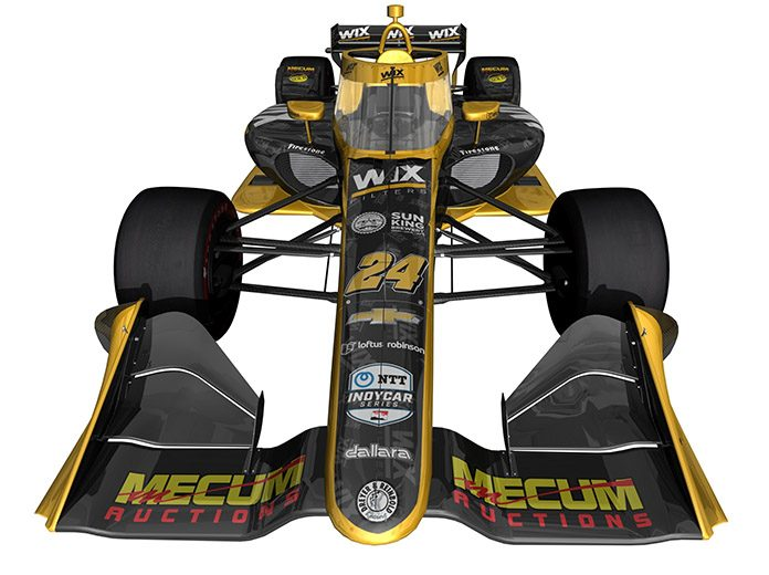 WIX Filters will sponsor Dreyer & Reinbold Racing in two NTT IndyCar Series races this year.