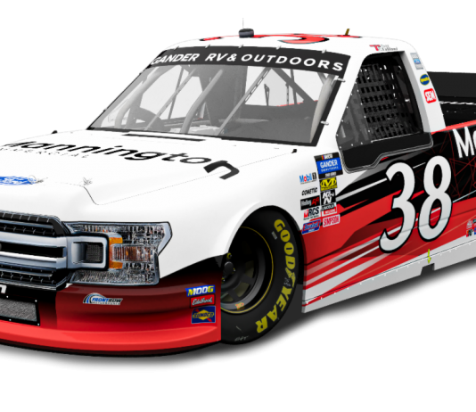 Mannington Commercial will sponsor Todd Gilliland in the upcoming NASCAR Gander RV & Outdoors Truck Series race at Atlanta Motor Speedway.
