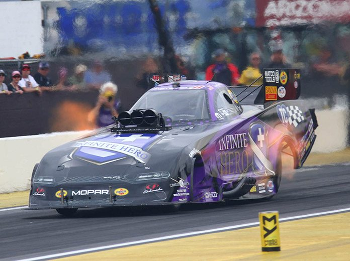 Jack Beckman is hoping to continue his strong start at the Gatornationals in Gainesville, Fla. (Ivan Veldhuizen Photo)