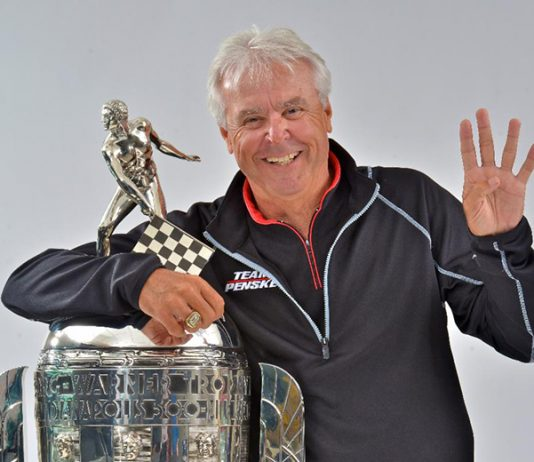 Rick Mears will be honored by the Road Racing Drivers Club in Long Beach, Calif., next month.