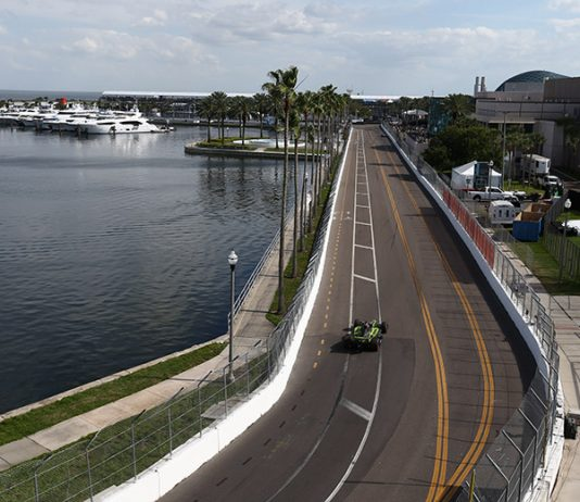 The Grand Prix of St. Petersburg will be held this weekend in Florida without fans. (IndyCar Photo)
