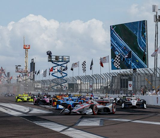 The NTT IndyCar Series has released the schedule for this weekend in St. Petersburg. (IndyCar Photo)
