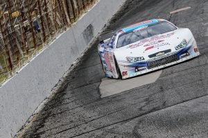 Wyatt Alexander last season at Hickory Motor Speedway. (Adam Fenwick Photo)