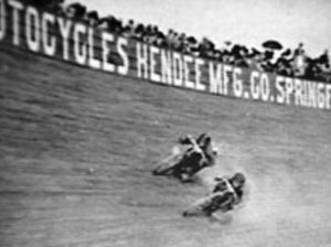 Board track racing was among the most exciting - and dangerous - forms of auto racing in history. (Bob Gates Photo Collection)