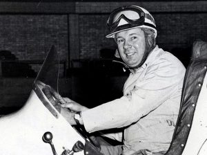Ray Richards was the overall indoor midget champion at Chicago's International Amphithetre in 1950. (Bob Sheldon Collection Photo)