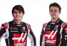 Pietro Fittipaldi (left) and Louis Delétraz have been named Haas F1 Team test and reserve drivers.