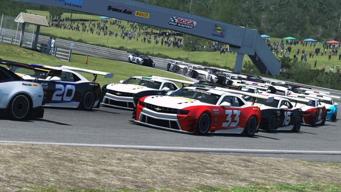 The Trans-Am Series hosted its first eSports event on Saturday.