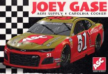 Joey Gase's Southern 500 scheme will pay tribute to Bobby Allison.