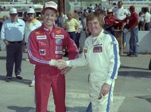The ASA played host to a number of future NASCAR stars - including Rusty Wallace (left) and Dick Trickle (right). (NSSN Archives Photo)