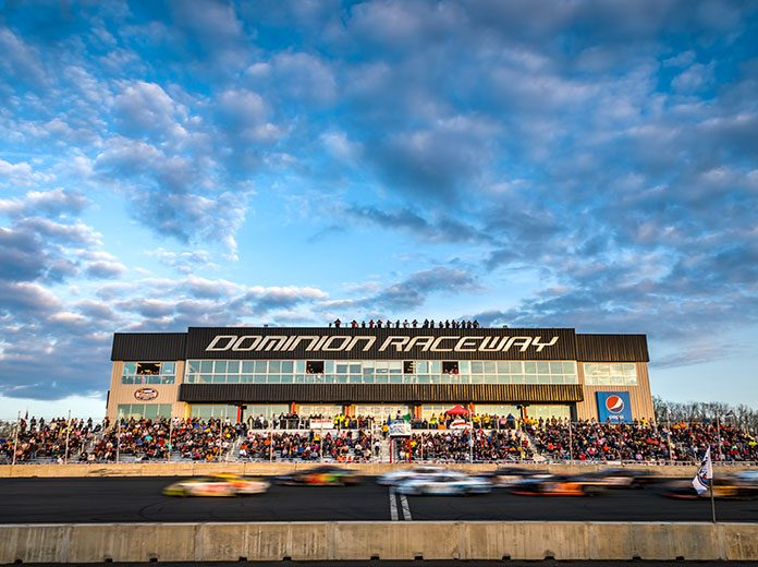 Dominion Raceway opened for business in 2016. (Dinah Mullins Photo)