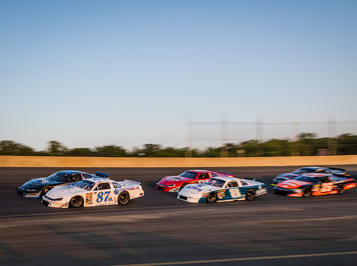 Late model stock cars prepare to go racing at Dominion Raceway. (Dinah Mullins Photo)