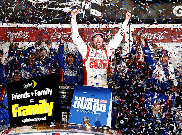 Dale Earnhardt Jr. is among five new NASCAR Hall of Fame nominees for 2021. (NASCAR Photo)