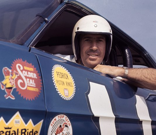 Ned Jarrett won a pair of NASCAR Cup Series championships during his driving career. (NASCAR Photo)