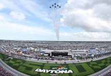 Daytona Int'l Speedway has become a COVID-19 testing location. (HHP/Tom Copeland)
