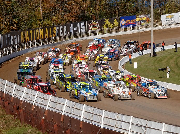 Chevrolet Performance is a major supporter of DIRTcar Racing's Sportsman Modified and Pro Stock divisions. (Colin Casserley Photo)