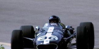 Dan Gurney during the 1967 Belgian Grand Prix.