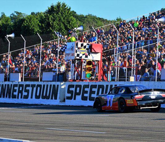 The Super Cup Stock Car Series visits Jennerstown Speedway on a regular basis. (Patrick Miller Photography Photo)