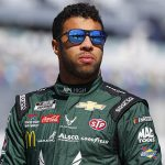 Bubba Wallace has broken his silence following Kyle Larson's use of a racial slur last Sunday. (HHP/Chris Owens Photo)
