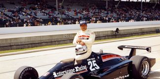 Danny Ongais in 1981 at Indianapolis Motor Speedway. (IMS Photo)
